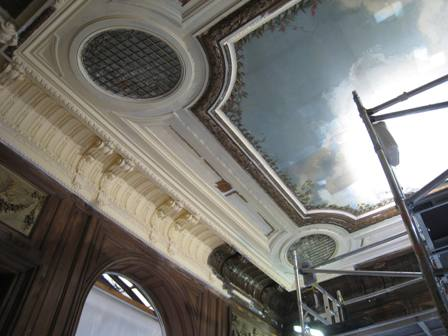 Hotel Salomon de Rothschild, Paris. Restoration of Decorative Interior Finishes.